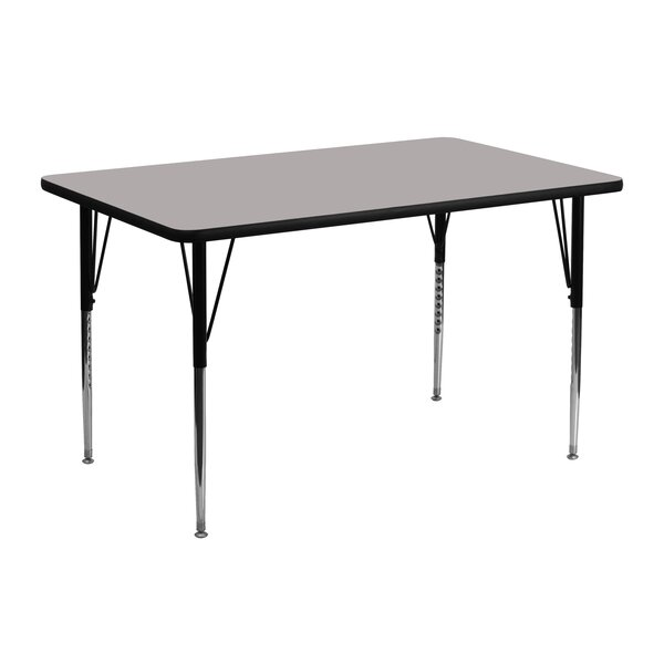 48 x 24 Rectangular Activity Table by Flash Furnit