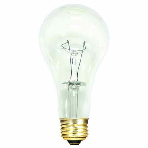 150W General Service Incandescent Light Bulb (Set of 15) by Bulbrite Industries