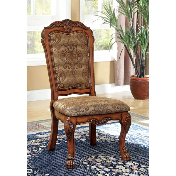 Eliason Upholstered Side Chair (Set of 2) by Astoria Grand Astoria Grand