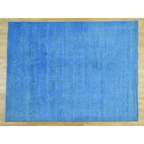 One-of-a-Kind Bradsher Overdyed Mahal Design Hand-Knotted Wool Area Rug by Isabelline