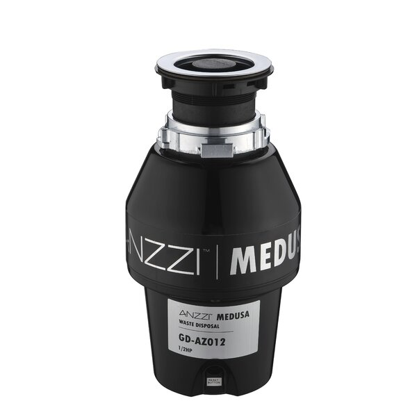 Medusa Series 1/2 HP Continuous Garbage Disposal by ANZZI