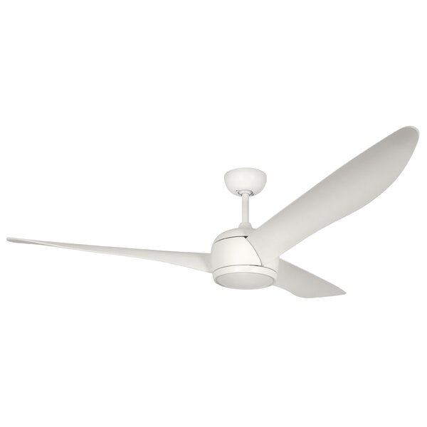 56 Cathcart 3 Blade Ceiling Fan with Remote by Ebern Designs