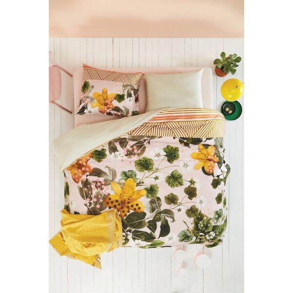 Melinda Botanical Flower Duvet Cover Set