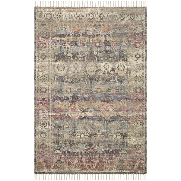 Cornelia Hand-Knotted Brown Area Rug by Loloi x Justina Blakeney
