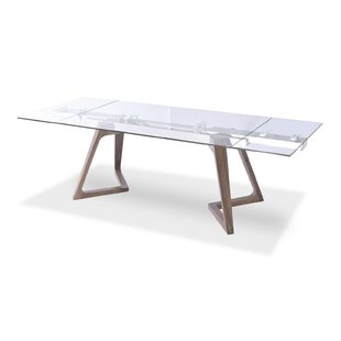 Best Reviews Aiyana Wooden Extendable Dining Table ByCorrigan Studio