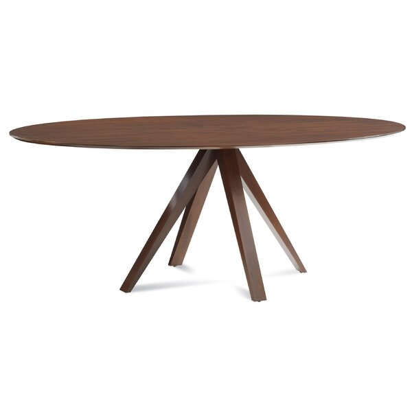 Best #1 Cullinan Ellipse Solid Wood Dining Table By Corrigan Studio Discount