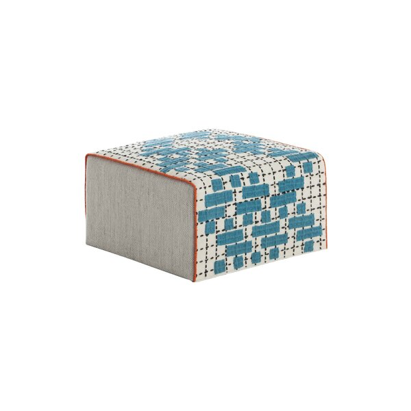 Bandas Space Small C Pouf by GAN RUGS