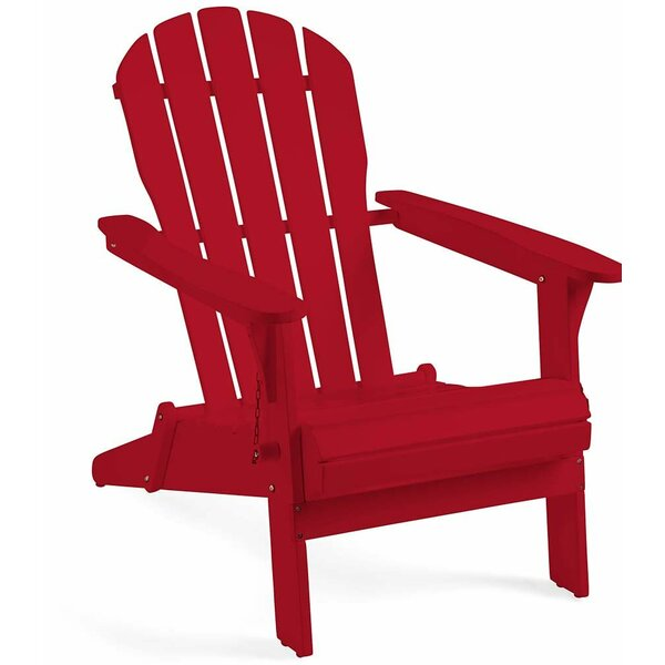 Solid Wood Adirondack Chair by Plow & Hearth
