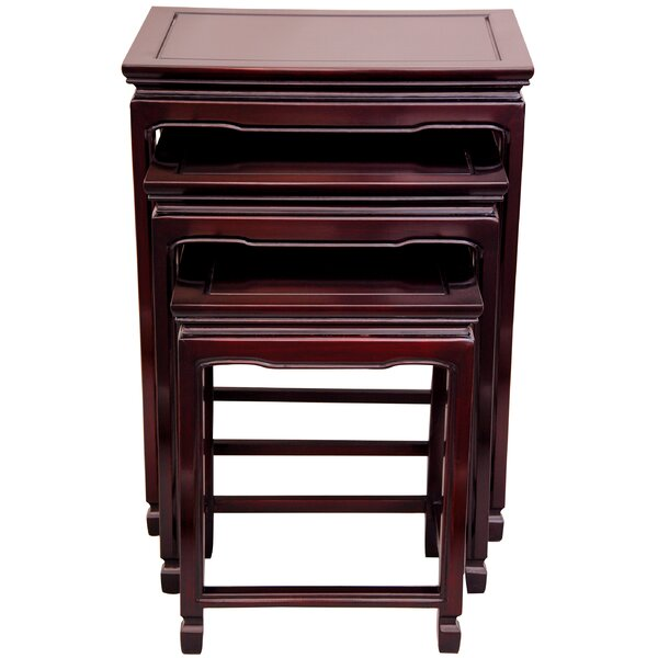 Hunt 3 Piece Nesting Tables by World Menagerie World Menagerie