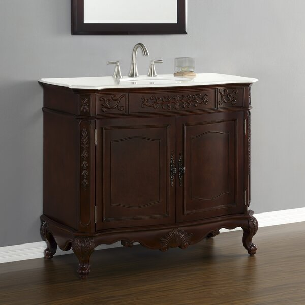 Rutherford 43 Single Vanity Set by Mission Hills
