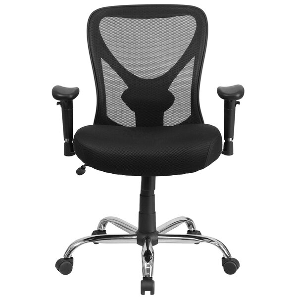 Laduke High-Back Mesh Desk Chair by Symple Stuff