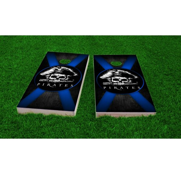 Pirate Theme Cornhole Game (Set of 2) by Custom Cornhole Boards