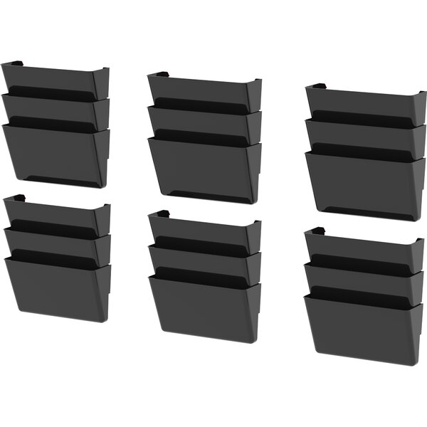 Unbreakable Wall Files, Legal (Set of 6) by Storex