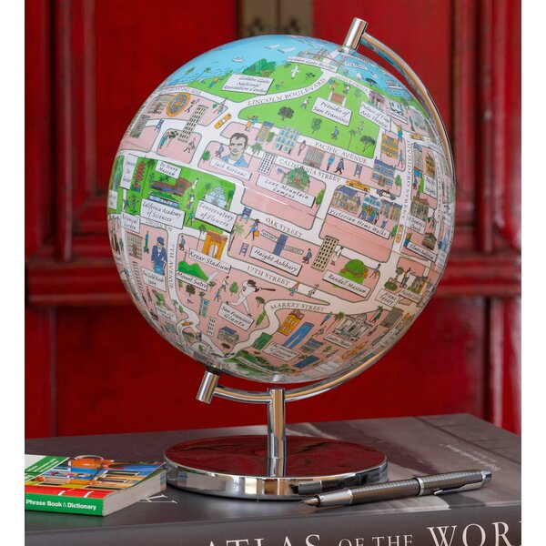 San Francisco Night Lights Globe by Waypoint Geographic