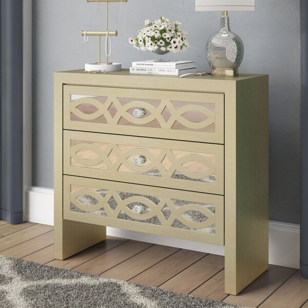 Tanner 3 Drawer Accent Chest by Rosdorf Park Rosdorf Park