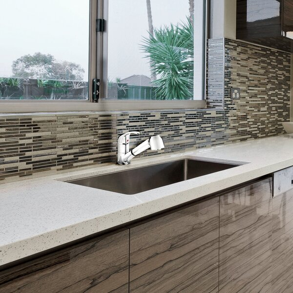 Essential Pull Out Single Handle Kitchen Faucet