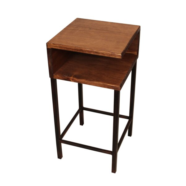 Vandergriff End Table By Highland Dunes