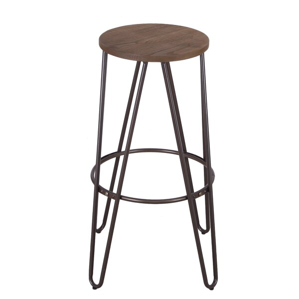 30 Bar Stool By Adeco Trading ★ Footstool Or Ottoman Bar