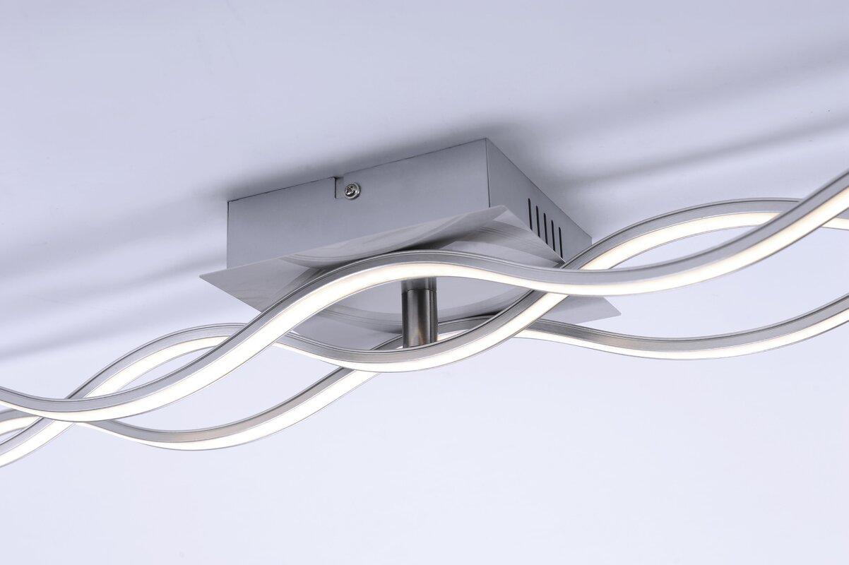 home loft concept deckenleuchte 3 flammig wave bewertungen. Black Bedroom Furniture Sets. Home Design Ideas