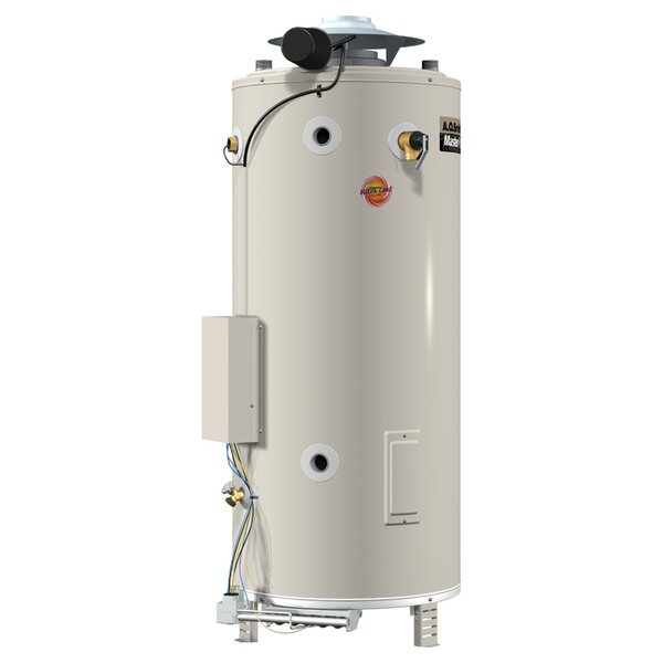 BTR-250A Commercial Tank Type Water Heater Nat Gas 100 Gal Master-Fit 250,000 BTU Input by A.O. Smith