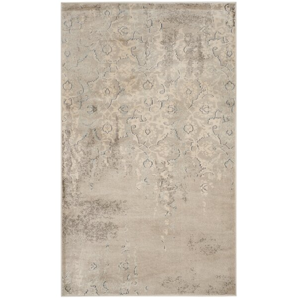 Vintage Gray/Ivory Area Rug by Safavieh