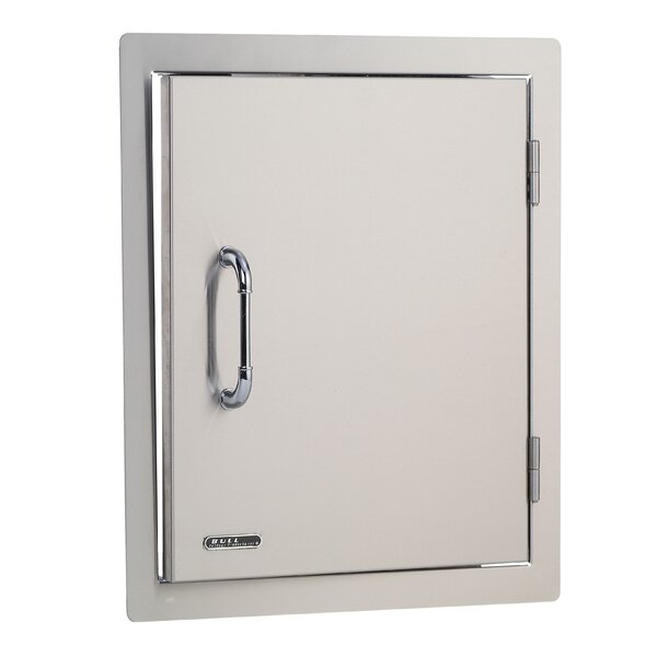 Stainless Steel Vertical Access Door by Bull Outdoor Products