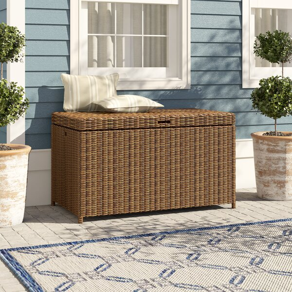 Lawson Wicker Deck Box by Birch Lane Heritage Birch Lane™ Heritage
