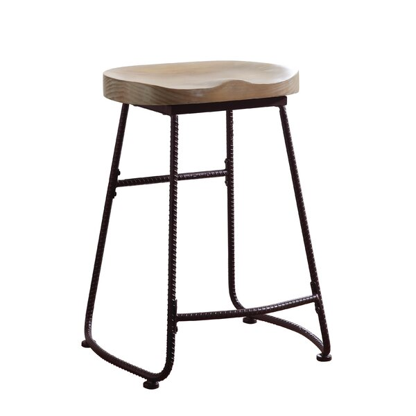 Thach Backless 24 Bar Stool by Union Rustic
