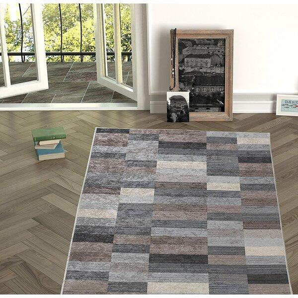 Forestville Brown/Gray Indoor/Outdoor Area Rug by Winston Porter