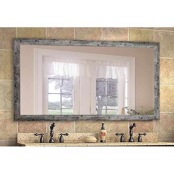Weathered Farmhouse Accent Mirror by August Grove