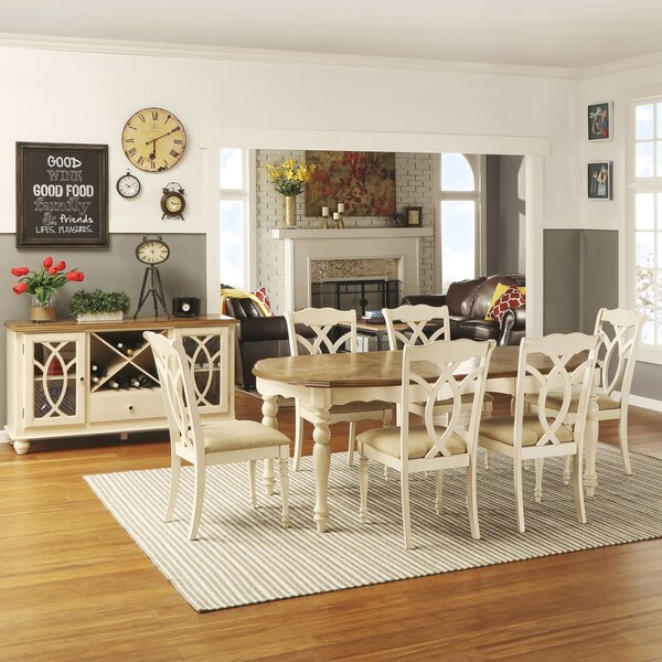 Grandin 7 Piece Extendable Dining Set by Ophelia & Co.