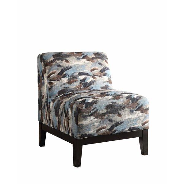 Montiel Slipper Chair by Latitude Run