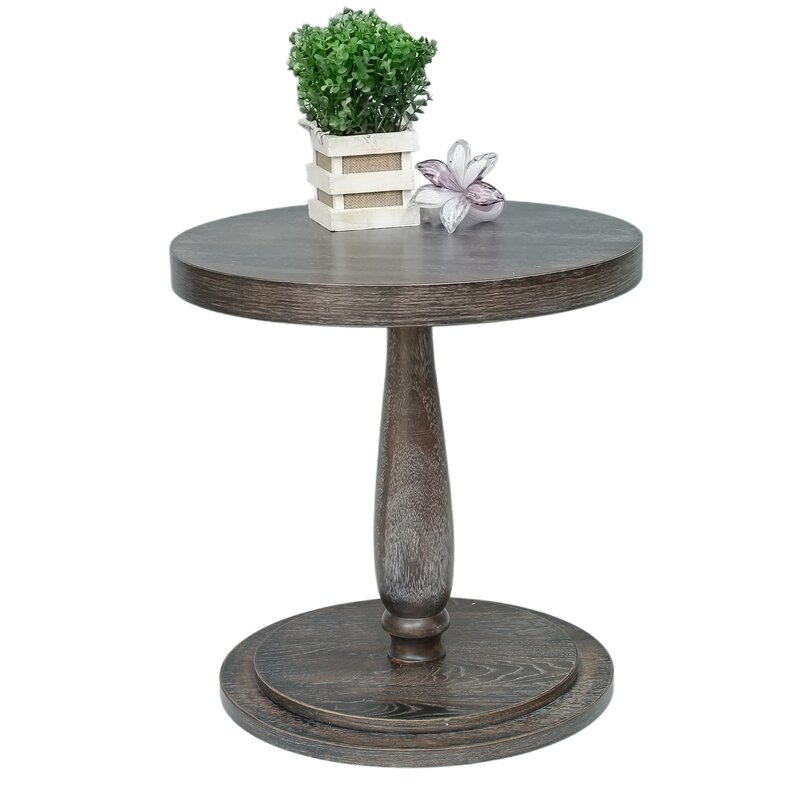 Baudemont Round End Table
