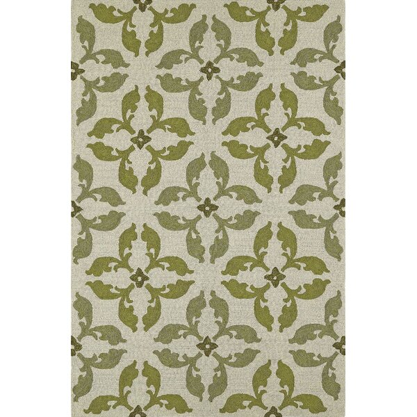Cabana Hand-Tufted Lime Indoor/Outdoor Area Rug by Dalyn Rug Co.