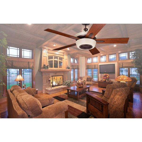 62 Tall 5-Blade Ceiling Fan by Loon Peak