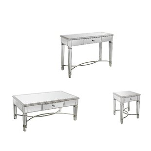 Barbera 3 Piece Coffee Table Set By Rosdorf Park