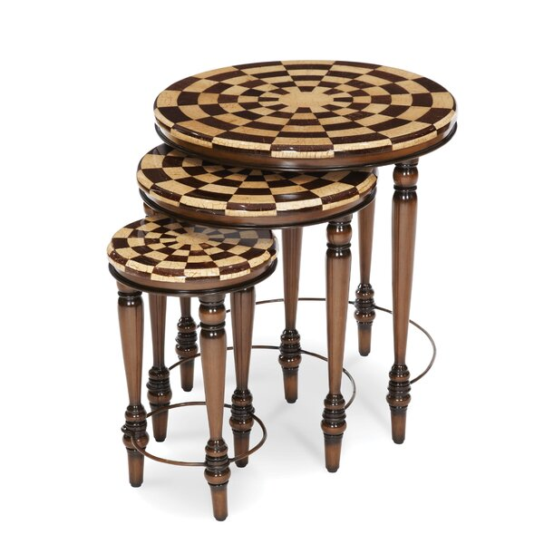 Discoveries Casa 3 Piece Nesting Tables by Michael Amini