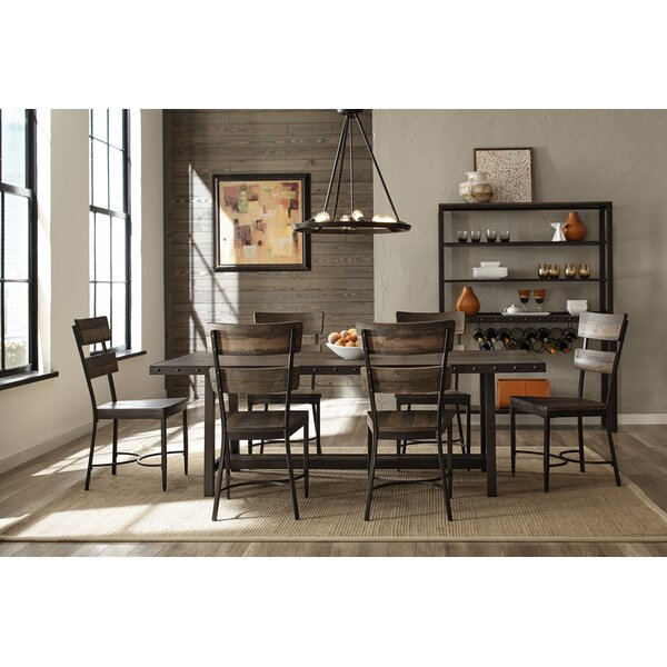 Cathie 7 Piece Wood Dining Set by Gracie Oaks