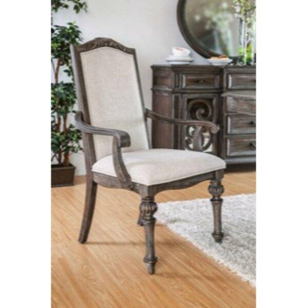 Ghislaine Padded Fabric Armchair (Set of 2) by Rosalind Wheeler