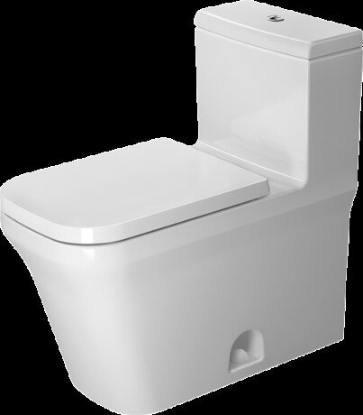 P3 Comforts 1.28 GPF (Water Efficient) Elongated One-Piece Toilet with High Efficiency Flush (Seat Not Included) by Duravit
