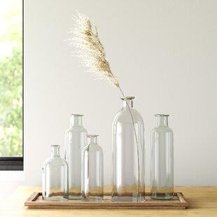 Modern Contemporary Glass Flower Vase Allmodern