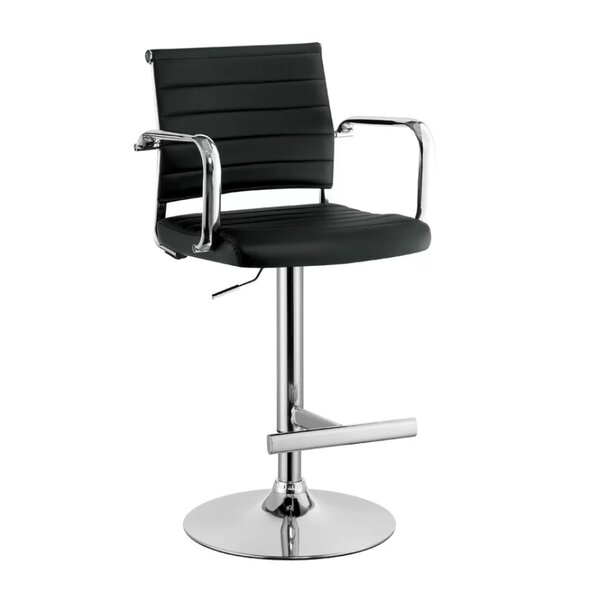 Liliana Adjustable Height Bar Stool by Orren Ellis