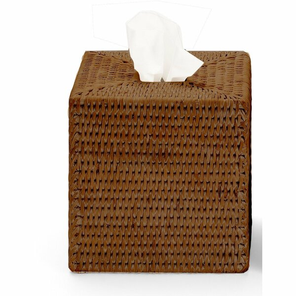 Efren Square Case Rattan Tissue Box Cover by Mistana