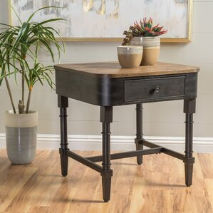 Piestewa Square Wood End Table by Trent Aust..
