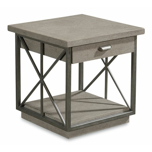 Kala End Table by Gracie Oaks