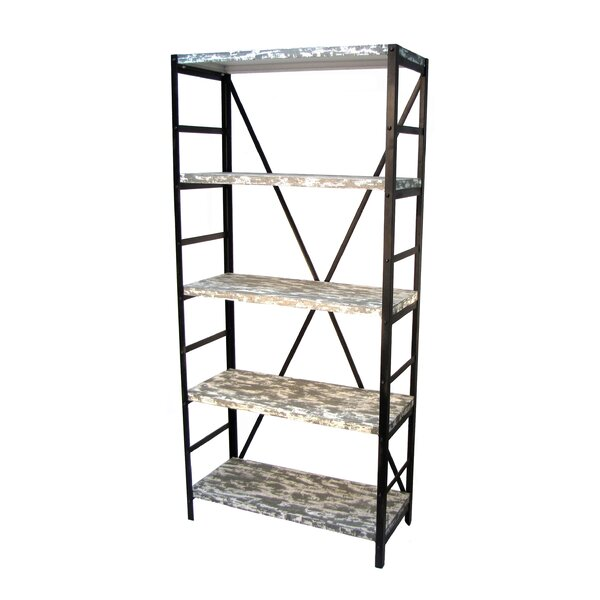 Prairie Home 5 Tier Etagere Bookcase by Wilco Home