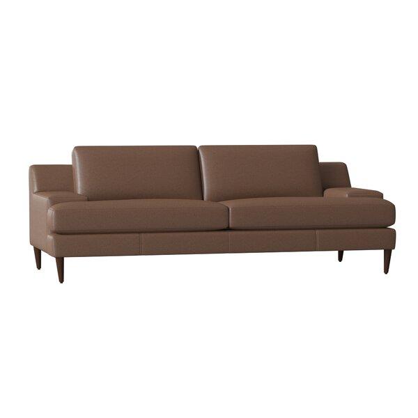 Price Comparisons Brickey Leather Sofa by Corrigan Studio by Corrigan Studio
