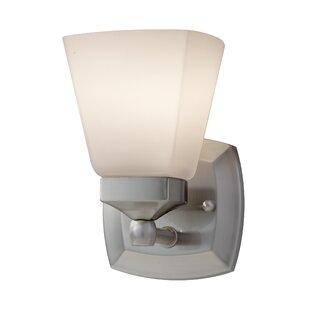 Read Reviews Woodhull 1-Light Wall Sconce By Alcott Hill
