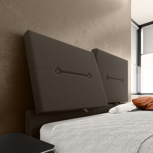 Decker Upholstered Panel Headboard by Orren Ellis