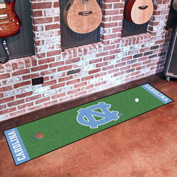 NCAA University of North Carolina Chapel Hill Putting Green Mat by FANMATS